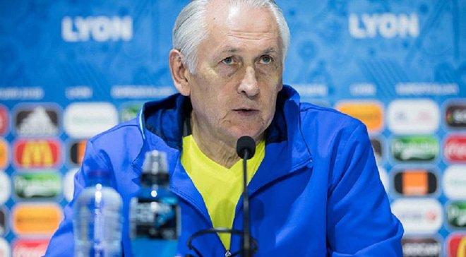 Фоменко: С иностранцами это уже будет не сборная Украины