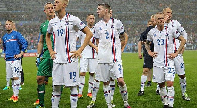 Ісландія оголосила заявку на матч проти України