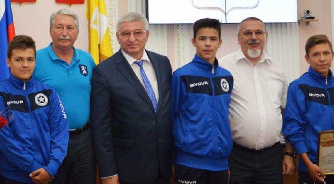 У Росії дітей, які побили однолітків на футбольному турнірі у Норвегії, нагородили медалями