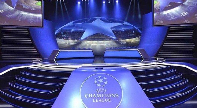 УЕФА снова разведет украинские и российские клубы в групповом раунде Лиги чемпионов