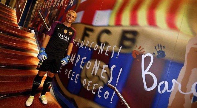 """""""Барселона"""" офіційно представила Сіллессена"""