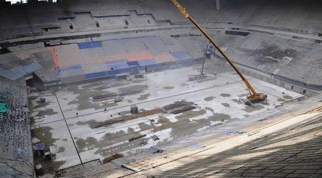 """На новом стадионе """"Зенита"""" не смогли справиться с главной изюминкой арены и обделили Луческу"""