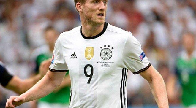 Шюррле из-за проблем со спиной не сыграет за Германию в ближайших матчах