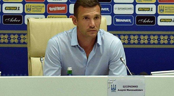 Шевченко: Гравці повинні знати, що треба боротися за місце у складі