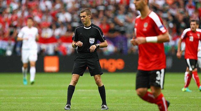 Украина – Исландия: УЕФА назвал арбитра на матч отбора ЧМ-2018