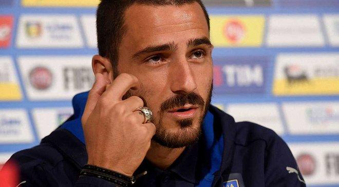 Бонуччі заплакав на прес-конференції перед матчем з Іспанією, згадавши про хворого сина – з'явилось відео
