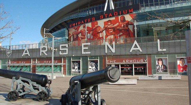 """Стадион """"Арсенала"""" возглавил рейтинг топ-10 самых прибыльных арен Европы"""