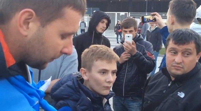 """""""Если бы я был Павелко, то вы бы все были на стадионе"""". Как Парасюк отбивался от фанатов в Кракове"""
