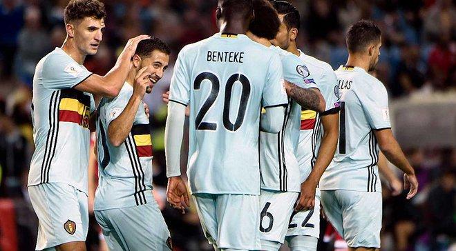 Гибралтар – Бельгия – 0:6. Видео голов и обзор матча