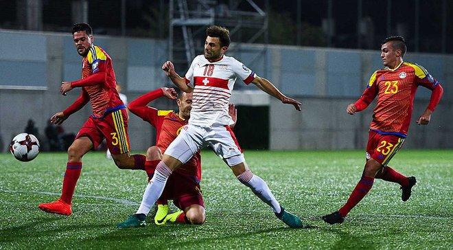 Андорра – Швейцарія – 1:2. Відео голів і огляд матчу