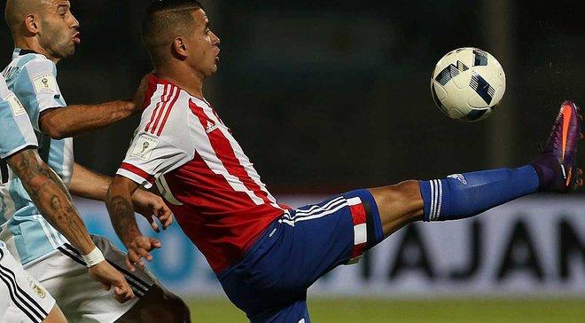 Гонсалес приніс перемогу Парагваю над Аргентиною