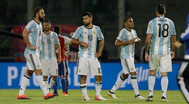 Кошмарный антирекорд Аргентины из-за отсутствия Месси, Агуэро не забил 5-й пенальти в 2016-м