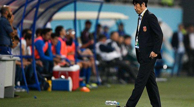 Збірна Китаю залишилася без головного тренера