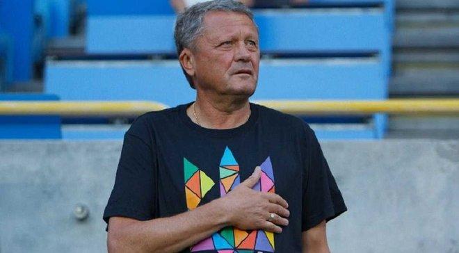 Маркевич: Еще совсем привык к новой должности в сборной Украины