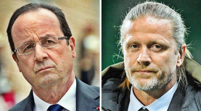 Президент Франції піддав сумніву інтелектуальні здібності футболістів та отримав гідну відповідь від Петі