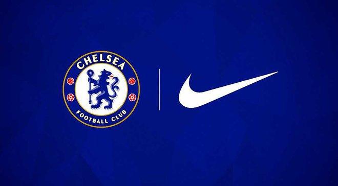 """Офіційно: """"Челсі"""" підписав найбільший спонсорський контракт у своїй історії, змінивши Adidas на Nike"""
