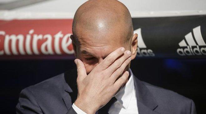 """Зідан може отримати ультиматум від керівництва """"Реала"""" після матчу з """"Бетісом"""", – ЗМІ"""