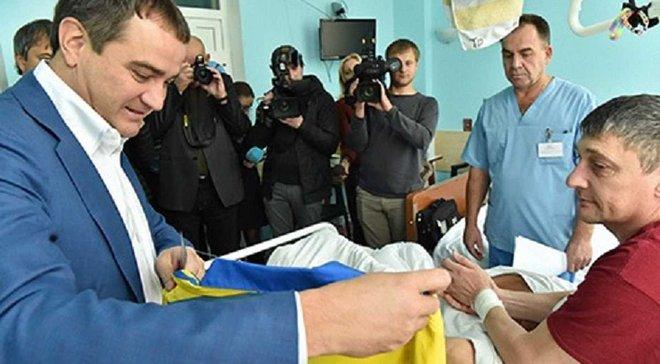 За підтримки ФФУ в госпіталі відкрили кімнату спортивної реабілітації бійців АТО