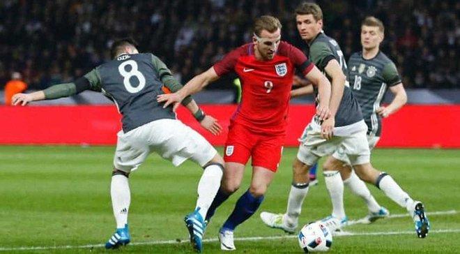 Германия и Англия сыграют товарищеский матч