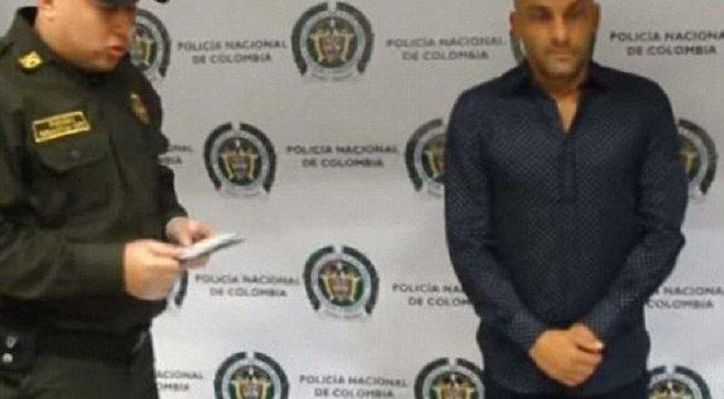 Екс-гравця збірної Колумбії впіймали на перевезенні кілограма кокаїну в нижній білизні