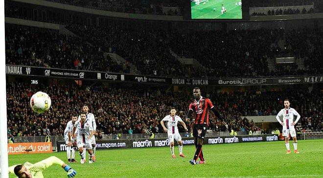 """Пенальті Балотеллі ефектно витягнув воротар, але """"Ніцца"""" повторила 41-річний рекорд"""