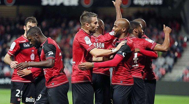 """Франція, Ліга 1: """"Генгам"""" закріпився у топ-5, """"Монпельє"""" вирвав перемогу в """"Кана"""""""