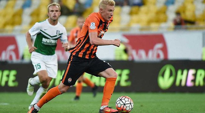 Коваленко стал лучшим футболистом в категории U-21 в сентябре
