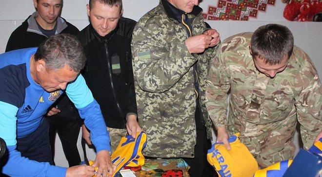 Маркевич завітав у гості до прикордонників