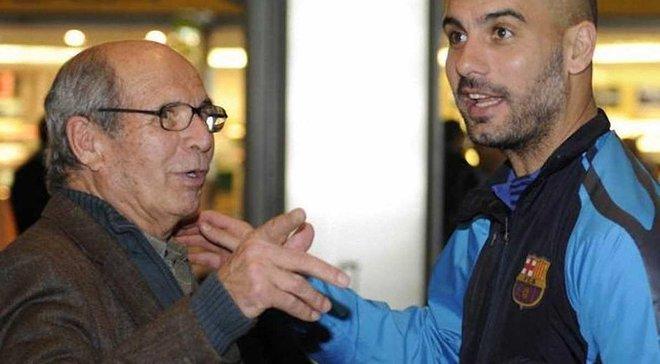 """Батько Гвардіоли: Навіщо моєму сину повертатись в """"Барселону""""? Щоб подавати м'ячі?"""