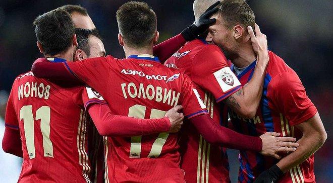 ЦСКА встановив абсолютний антирекорд російських команд у Лізі чемпіонів