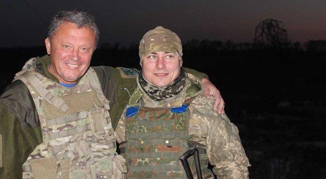 """Маркевич: В зоні АТО на Донбасі зустрів багато фанатів, які воюють – і """"Металіста"""", і """"Дніпра"""""""