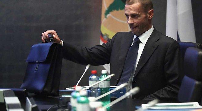 Фінали Ліги чемпіонів можуть відбуватися не в Європі, – новий президент УЄФА Чеферін