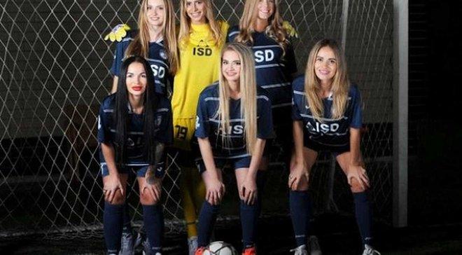 """Чарівні кохані та сестри зірок """"Сталі"""" показались в ефектній фотосесії на підтримку клубу"""