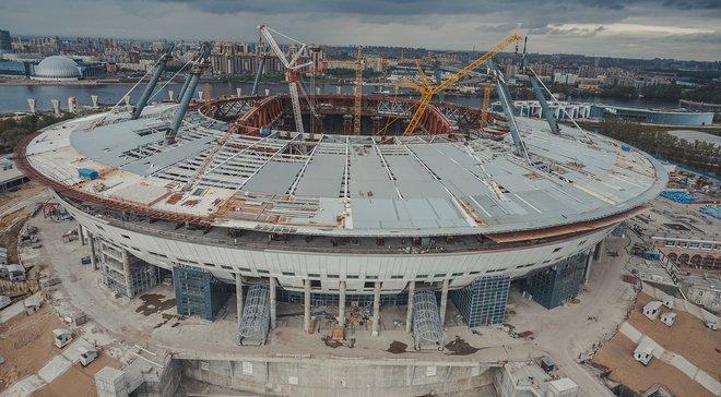 """Російський чиновник пояснив здорожчання """"Зеніт-Арени"""" на 31 мільярд смертю японського архітектора"""