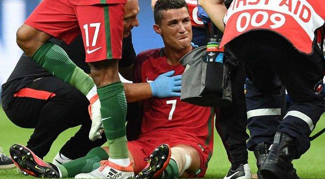 Травма Роналду у фіналі Євро-2016 стала проблемою для шокованої Франції, – Абідаль