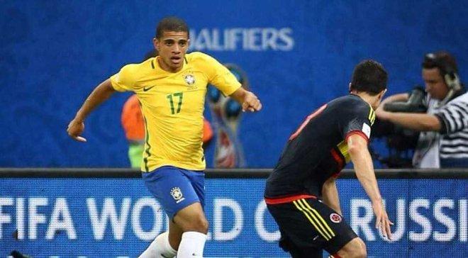 Тайсон не попал в состав сборной Бразилии на матчи против Аргентины и Перу