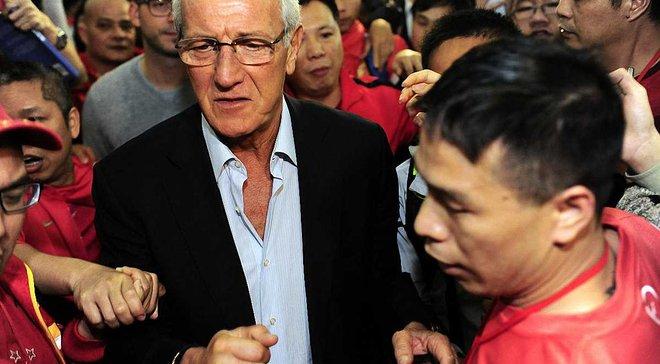 Ліппі офіційно очолив збірну Китаю