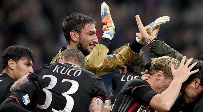 """""""Милан"""" впервые за 8 лет набрал такое большое количество очков"""