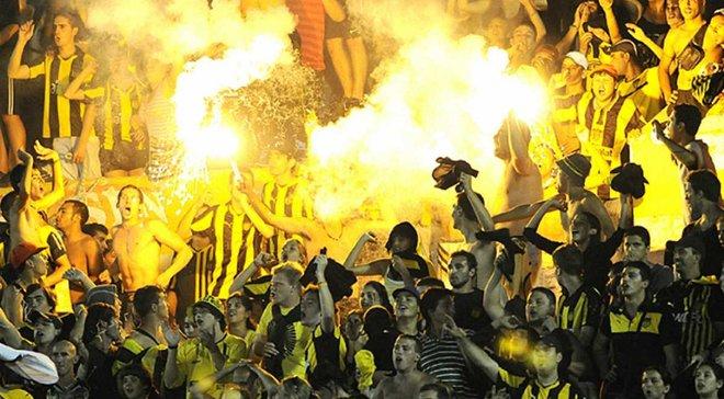 Матч чемпіонату Уругваю був перерваний через розбірки наркоторговців на стадіоні