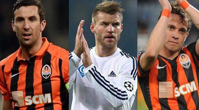 10 найбільш високооплачуваних футболістів чемпіонату України. Інфографіка