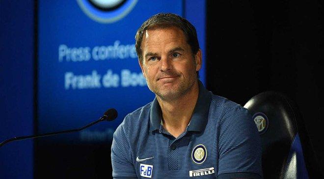 """""""Интер"""" уволит де Бура и нашел кандидатов, которые возглавили бы команду до прихода Симеоне"""