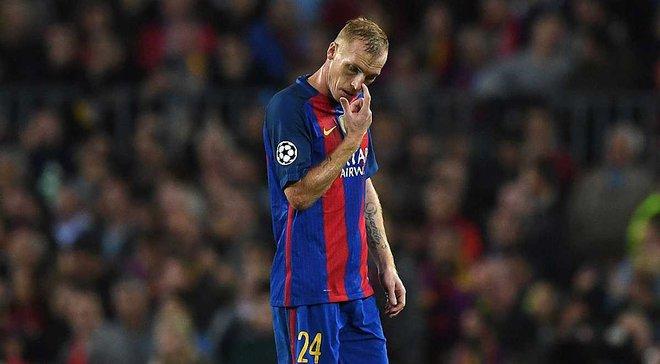 Матье получил травму в матче за Суперкубок Каталонии