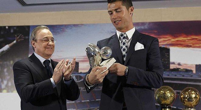 """Роналду звернувся по допомогу до президента """"Реала"""" через можливу втрату """"Золотого м'яча"""""""