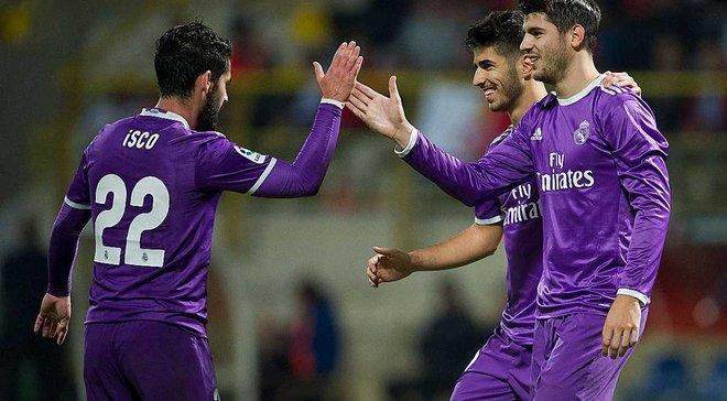 """""""Реал"""" забив 7 голів на виїзді в Кубку Іспанії, Мората та Асенсіо оформили дублі"""