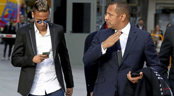 Батько Неймара: Якщо хтось хоче купити мого сина, то нехай готує 430 мільйонів євро
