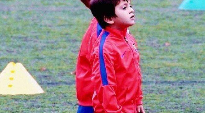 """Син Мессі провів перше тренування у """"Барселоні"""" – з'явились фото"""