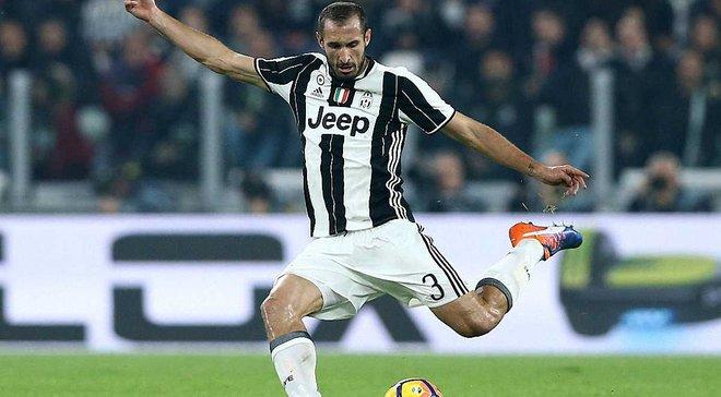 """К'єлліні не допоможе """"Ювентусу"""" та збірній Італії у найближчих матчах"""