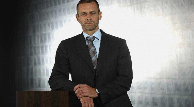 Президент УЕФА Чеферин встретится с Премьер-министром Украины