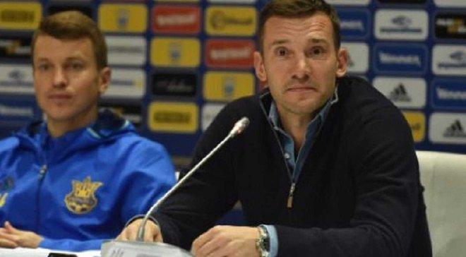 Шевченко: Коноплянка може вийти у стартовому складі, наше завдання проти Фінляндії – не фантазувати