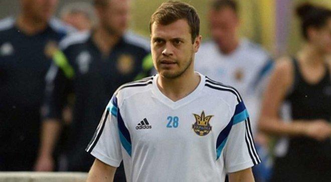 Ксёнз: Работаю, чтобы вернуться в сборную Украины, но с тренерским штабом разговоров не было